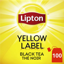 Lipton Yellow Label Black Tea - Pack of 100 - FROM CANADA - $22.37