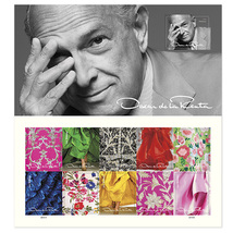 USPS 2017 Oscar de la Renta Sheet of 11 Forever Stamps - $7.99