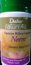 3 x Dabur Neem 100% Vegetarian 60 Capsules - $28.00