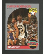 1990-91 NBA Hoops # 270  David Robinson - RC -San Antonio Spurs -Mint  - $1.00