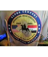 Alpha Company-490th Civil Affairs-2008 Operation Iraqi Freedom-Hanes T-S... - $25.00