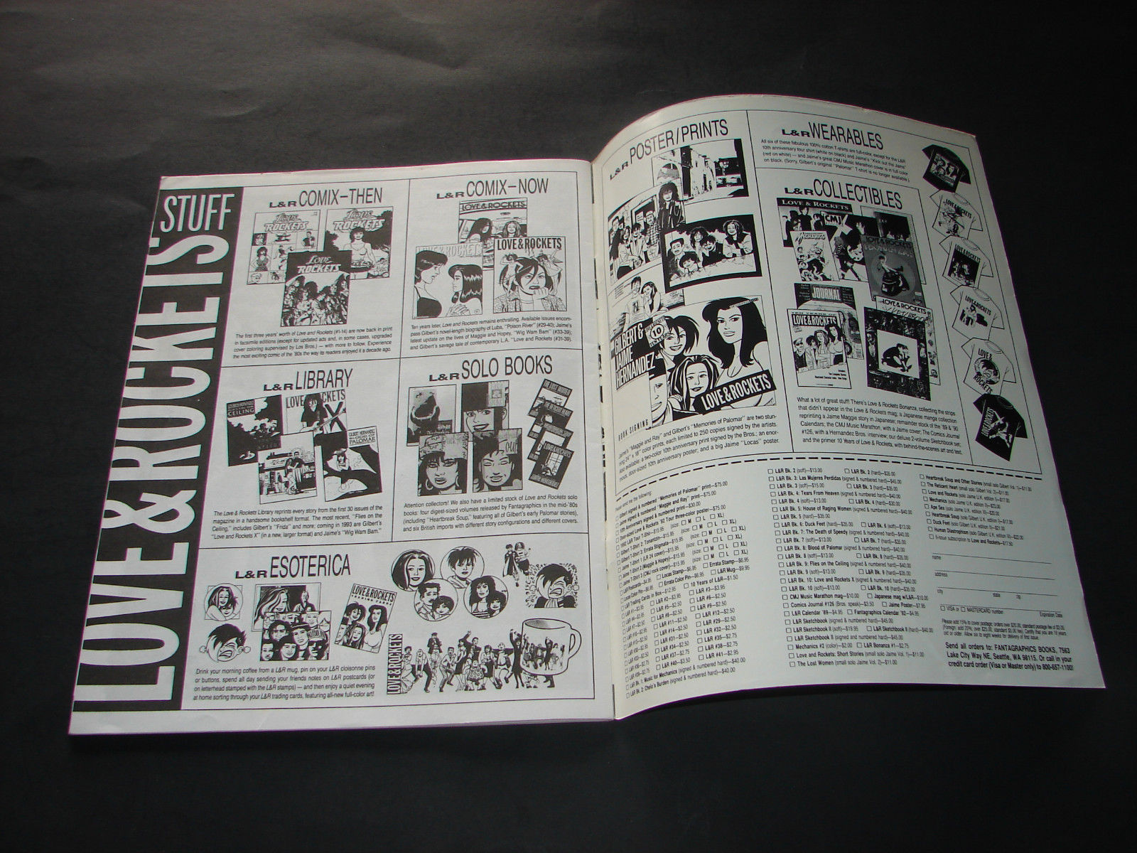 LOVE & ROCKETS Magazine 40 Jan 1993 Comic by and 50 similar items