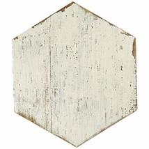 """SomerTile FNURTXBL Vintage Hex Porcelain Floor and Wall Tile, 14.125"""" x ... - $118.31"""