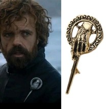 The Game of Thrones Stark Hand of King Brooch Pin Bronze - $15.00