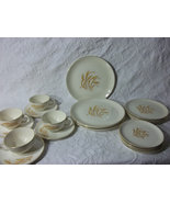 Vintage Homer Laughlin Golden Wheat Dinnerware Set. - $75.90