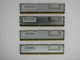 16GB 4x4GB DDR2 FB Fully Buffered PC2-5300F 667 Mem Dell PowerEdge SC1430 TESTED
