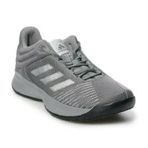 ADIDAS PRO SPARK 2018 LOW MEN'S GREY/SILVER SHOES #F99901 - $49.99