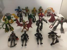 Lot of 18 Teenage Mutant Ninja Turtle Figures Years 2012-2014 READ DESCR. - $188.09