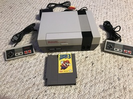 Nintendo Entertainment System with lockout chip mod and new 72 Pin Conne... - $140.00