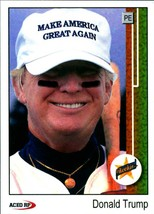 Lot of 5 1989 Donald Trump MAGA Upper Deck Griffey Jr Style ACEO cards  - $4.99