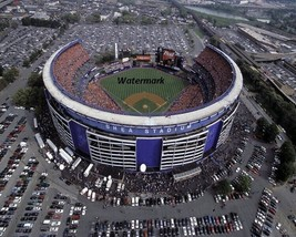 MLB New York Mets Shea Stadium Aerial View Color Picture 8 X 10 Photo Pi... - $5.99