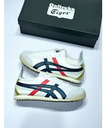 Onitsuka Tiger Unisex Mexico 66 Light Grey/Red/Strong Blue - $270.00