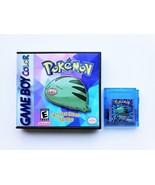 Pokemon Crystal Clear v2.3.0 Custom Game / Case Gameboy Color (USA Seller) - $24.99