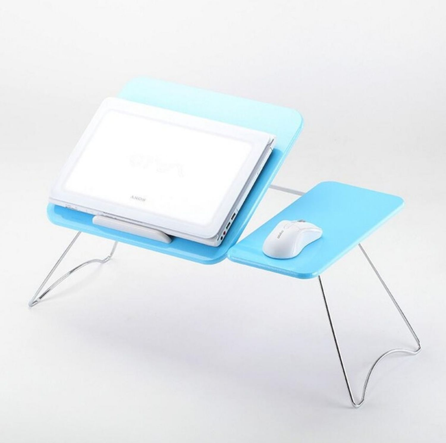 Laptop Desk Folding Anti-Slip Table Computer Tray Stand Lap Sofa Bed Work Holder