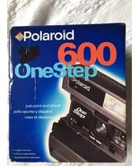 Vintage Polaroid One Step 600 Instant Film Camera Point and Shoot Flash NEW - $94.98