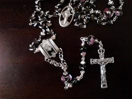 Hematite Hearts Rosary - $21.15