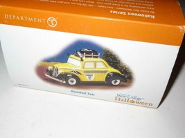 DEPT 56- RETIRED- 58-53213 - HAUNTED TAXI- NEW IN THE BOX - H49 - $19.59