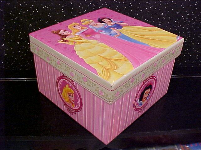 *DISNEY*PRINCESS*TRINKET*JEWELRY*GIFT*BOX*SQUARE*NEW* Bonanza