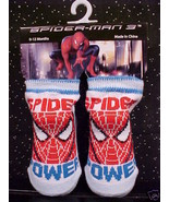 *SPIDERMAN*BOOTIES*TODDLER*BABY*CHILD*0-12 MOS*NWT* - $5.00