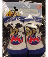 *MICKEY MOUSE*PROFILE*BOOTIES*INFANT*BABY*0-6 MOS*NWT* - $5.00