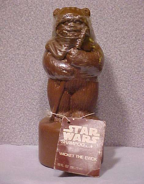 *STAR WARS*ROTJ*WICKET*EWOK*SHAMPOO*SOAKY*SOAKIE*NWT* Bonanza