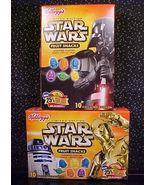 *STAR WARS*FRUIT SNACKS*LTD ED*R2-D2*C-3PO*YODA*VADER* - $9.99