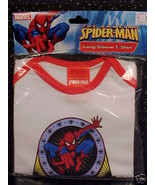 *SPIDERMAN*T-SHIRT*L/S*TODDLER*BABY*CHILD*6-12 MOS*NWT* - $5.00