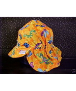 *ORANGE*FROG*BEE*DRAGONFLY*BUTTERFLY*SUN HAT*6/18 MO* - $5.00