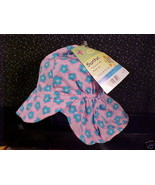 *TODDLER*BABY*PINK*BLUE FLOWER SUN HAT*6/18 MO*NEW* - $5.00