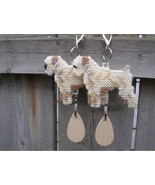 Soft-Coated Wheaten Terrier dog crate tag or ha... - $19.00