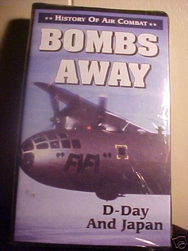 *HISTORY OF AIR COMBAT*BOMBS AWAY*WAR*VHS*VIDEO*NEW* Bonanza