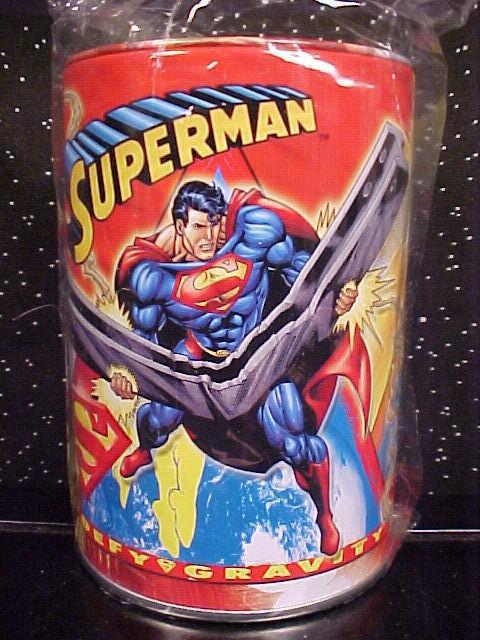 *SUPERMAN*BANK*METAL*ROUND*DC COMICS*NEW* Bonanza