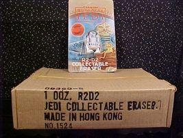 *STAR WARS*ROT JEDI*R2-D2 ERASERS*FULL BOX*ONE DOZEN* - $48.00