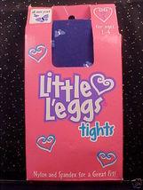 *Little Leggs Tights*Sz S*2-4 Yrs*Butterfly Blue*Nip* - $4.00