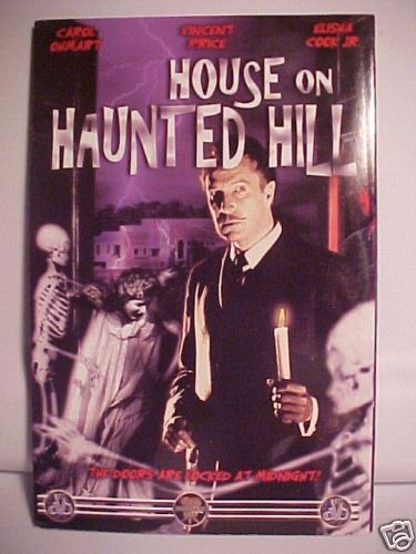 *HOUSE ON HAUNTED HILL*VINCENT PRICE*CASTLE*DVD*NEW* Bonanza