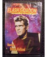 *FLASH GORDON*STEVE HOLLAND*3 EPISODES*DVD*NEW*SEALED* - $5.00