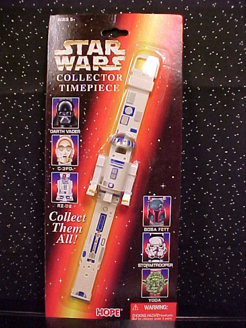 *STAR WARS*COLLECTOR TIMEPIECE*R2-D2*WATCH*MOC*SEALED* Bonanza