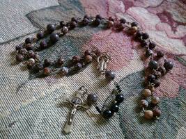 Fire Agate Rosary - $26.10