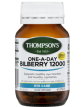 Thompson's One-A-Day Bilberry 12000mg 60 Capsules - $150.25