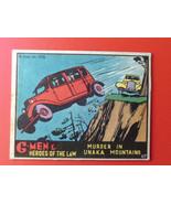 1936  G-MEN + HEROES  OF  THE  LAW    MURDER  IN  UNAKA   # 67   !! - $39.99