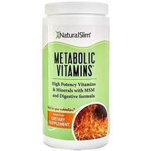 NaturalSlim Metabolic Vitamins, Formulated by Award Winning Metabolism and Weigh