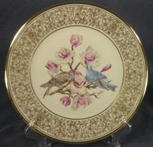 Mountain Bluebird Lenox Boehm Birds Decorative Plate 1972 Handcrafted Li... - $39.95