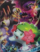Pokemon DP Card Game Official Gaming 4 Pocket Album - Shaymin - $41.78
