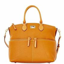 Dooney & Bourke Dillen Double Pocket Satchel, Peanut Brittle - $295.00