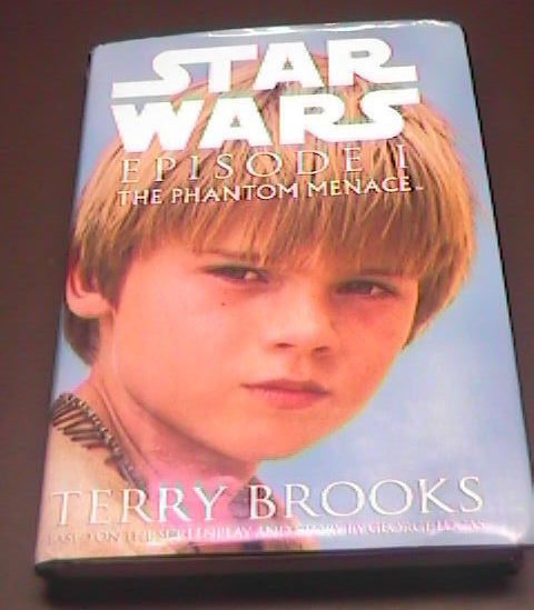 Star Wars Episode I Phantom Menace First Edition Hard Cover with Dust Jacket