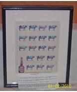 DeKuyper Buttershot's Butterscotch Schnapps cow Ad - $14.99