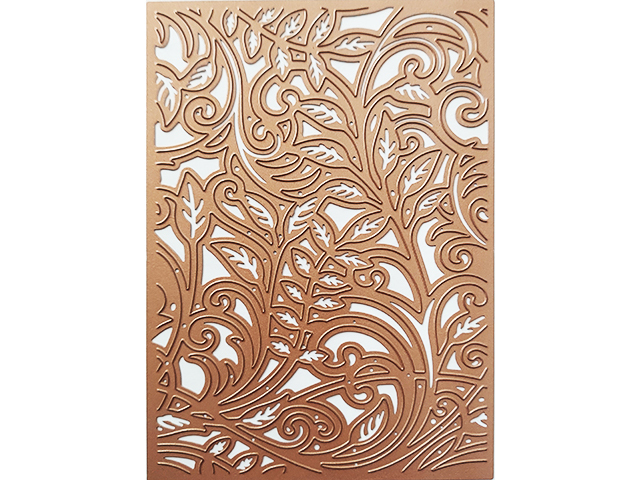 Floral Background Cutting Plate