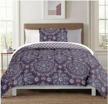 NEW Berkshire Life Studio Style 8 Piece Comforter Set - TWIN XL - Purple... - $49.49