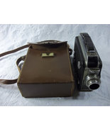 Vintage Cine Kodak Magazine 8 mm Camera with Leather  Bag - $30.00