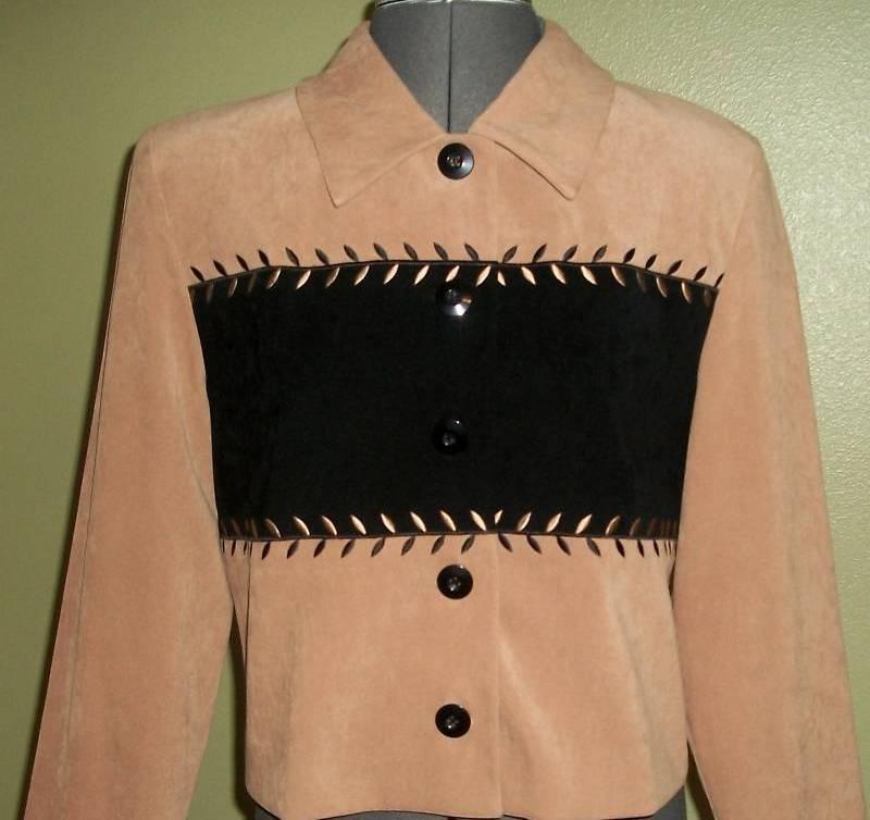 AMANDA SMITH PETITES soft velvet-like short jacket, 10P Perfect Condition Amanda Smith